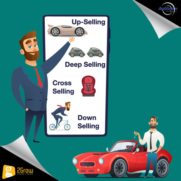 Cross-Selling, Up-Selling, Deep Selling, Down Selling - 2Grow